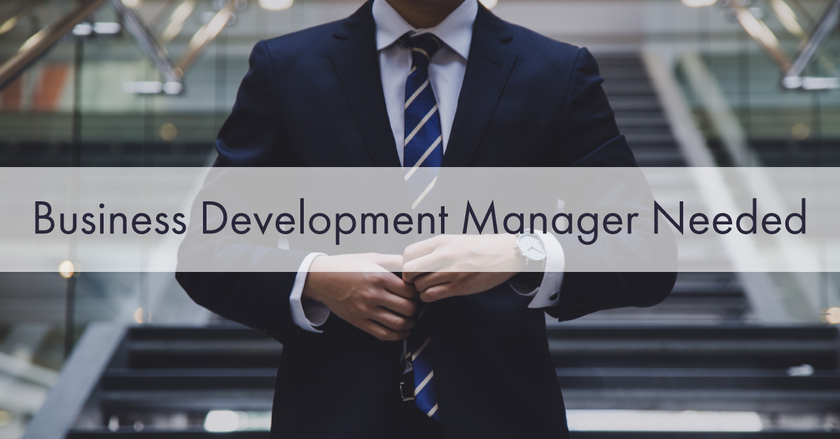 Bisiness Development manager