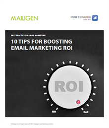 10 tips for better email marketing cover