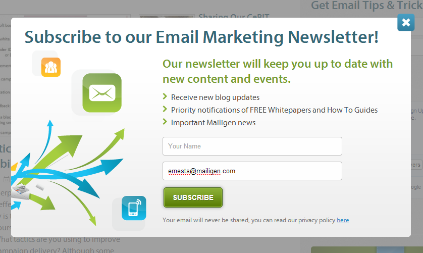 How to Keep Track of Email Subscriber Sign-up Form Source
