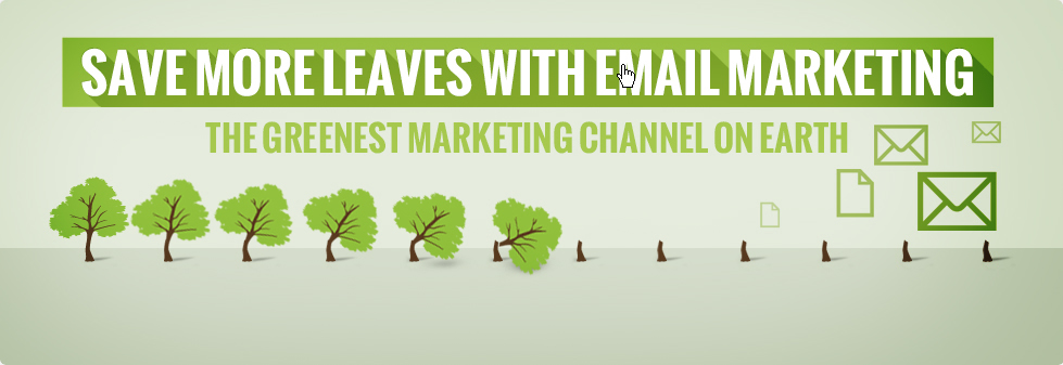 The Greenest Marketing on Earth – INFOGRAPHIC