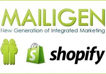 Mailigen integration with Shopify