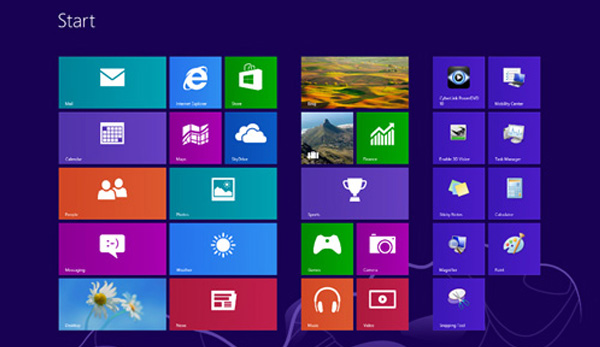 Windows 8 design