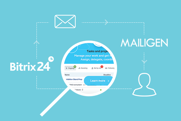 How Mailigen and Bitrix24 CRM Complete Each Other