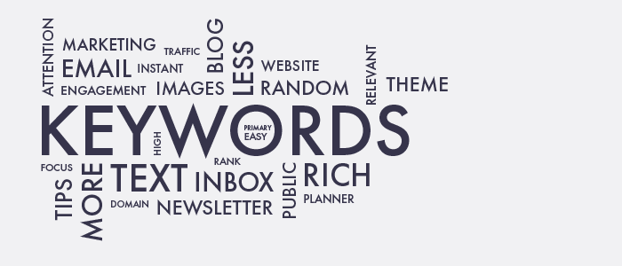 Visualization of keywords