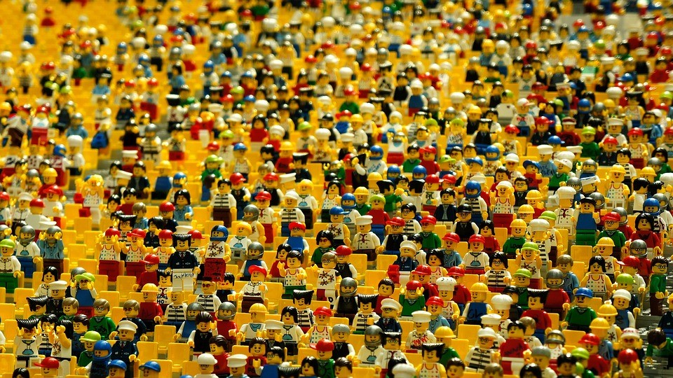 Image of your crowded audience
