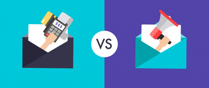 What's the difference between a marketing email and transactional email?
